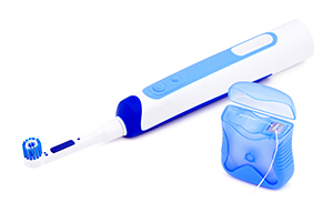 Electric toothbrush and idental floss.